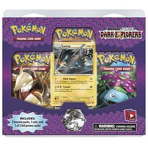 Pokemon Trading Card Game Dark Explorers: 3-Card Blister Pack
