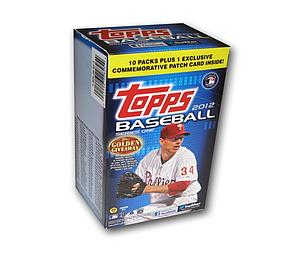 2011-12 MLB Topps Baseball Blaster Box