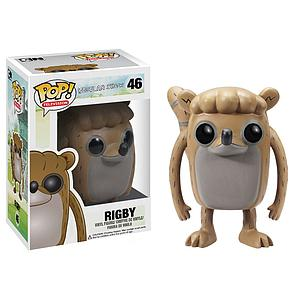 Pop! Television Regular Show Vinyl Figure Rigby #46 (Retired)