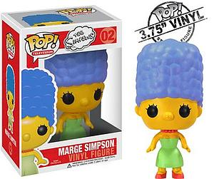 Pop! Television The Simpsons Vinyl Figure Marge Simpson #02 (Retired)