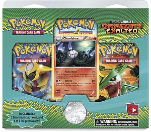 Pokemon Trading Card Game Dark Explorers: 3-Pack Blister Set