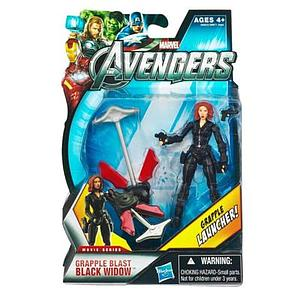 "Marvel Universe Avengers Movie 4"": Grapple Blast Black Widow (Canadian Packaging)"