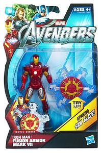 "Marvel Universe Avengers Movie 4"": Fusion Armor Iron Man Mark VII (Spinning Saw Blade) [US Packaging]"