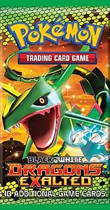 Pokemon Trading Card Game: Black & White Dragons Exalted Booster Pack