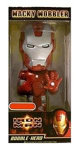 Wacky Wobblers Iron Man Bobbleheads: Iron Man Silver Exclusive
