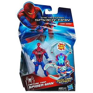 "The Amazing Spider-Man 3 3/4"" Action FIgure: Capture Trap Spider-Man"