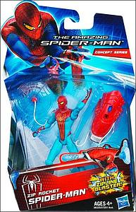 "The Amazing Spider-Man 3 3/4"" Action FIgure: Zip Rocket Spider-Man"