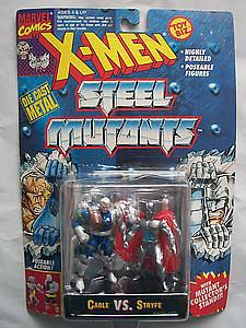 Toybiz X-Men Steel Mutants 2-Packs: Cable vs. Stryfe