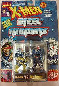 Toybiz X-Men Steel Mutants 2-Packs: Cyclops vs. Mr. Sinister