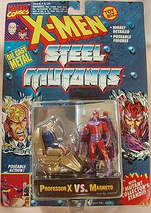 Toybiz X-Men Steel Mutants 2-Packs: Professor X vs. Magneto