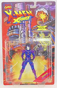 Toybiz X-Men X-Force: Domino (Twin Weapon Arsenal)