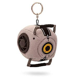Portal 2 Plush: Space Sphere Keychain