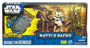 Star Wars The Clone Wars Battle Packs 3-Packs: Assault on Geonosis