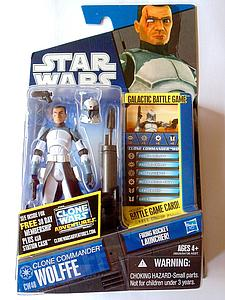 Star Wars The Clone Wars Commander Wolffe CW48
