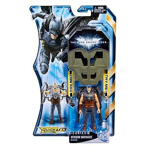 Mattel Quicktek The Dark Knight Rises Movie: Venom Menace Bane