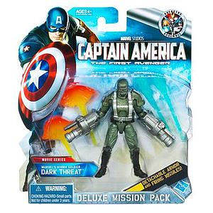 Captain America Marvel Movie Deluxe Mission Pack: Dark Threat