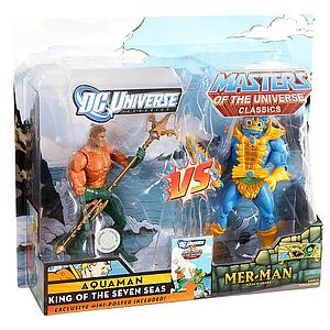 Mattel DC Universe & Masters of the Universe 2-Pack Exclusives: Aquaman vs. Mer-Man