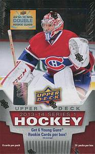 2013-14 NHL Upper Deck Series 1 Hobby Box