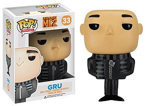 Pop! Movies Despicable Me Vinyl Figure Gru #33 (Retired)