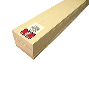 Basswood Sheets 1/2x3x24 [5 Pack] (4309)