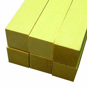 Basswood Sheets 3/4x3/4x24 [6 Pack] (4108)