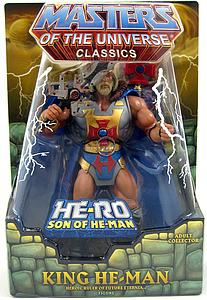"He-Man & the Masters of the Universe Classics 6"": King He-Man Heroic Ruler of Future Eternia"