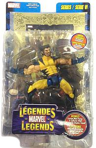 Marvel Legends: Wolverine with Gold Foil Poster