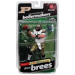 NFL Players: Drew Brees (University of Purdue) [Variant]