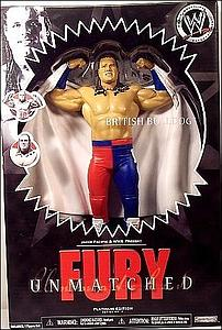 WWE Fury Unmatched Platinum Series: British Bulldog