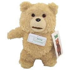 "Ted 8"" Talking Plush Doll: Clean"