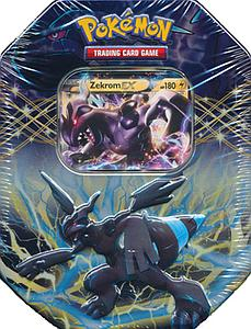 Pokemon Trading Card Game Black & White Spring 2012 EX Collector's Tins: Zekrom