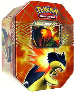 Pokemon Trading Card Game Heartgold & Soulsilver Spring Tins 2010: Typhlosion