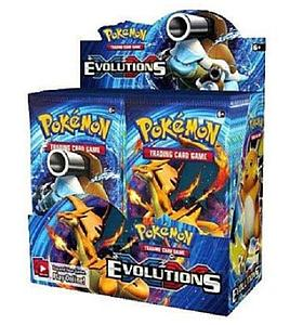 Pokemon Trading Card Game: XY12 Evolutions Booster Box (36 Packs)