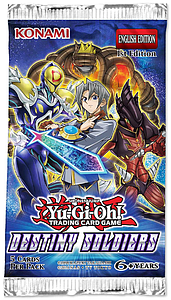 Yugioh Trading Card Game: Destiny Soldiers Booster Pack