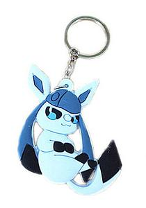 Pokemon Keychain Glaceon (Rubber)