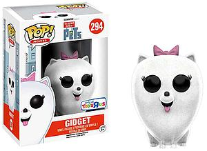 Pop! Movies The Secret Life of Pets Vinyl Figure Gidget (Flocked) #294 Toys R Us Exclusive