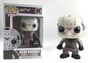 Pop! Movies Friday the 13th Vinyl Figure Jason Voorhees #01 (Glows in the Dark) Chase