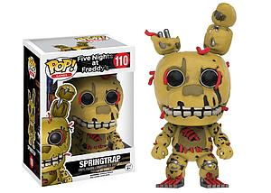 Pop! Games Five Nights at Freddy's Vinyl Figure Springtrap  #110