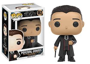 Pop! Movies Fantastic Beasts & Where to Find Them Vinyl Figure Percival Graves #07 (Vaulted)