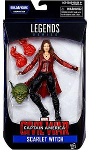 "Marvel Legends BAF Abonimation Series Civil Wars 6"" Action Figure Scarlet Witch"