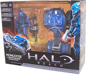 "Halo Reach 6"" Series 2 Vehicle & Figure Set: Mongoose with Spartan EOD & Rocket Launcher"