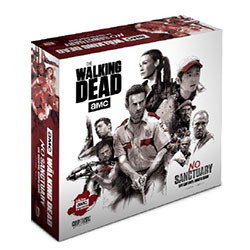 The Walking Dead: No Sanctuary Minis Game (Cardboard Standees Version)