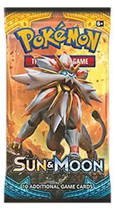Pokemon Trading Card Game: Sun & Moon Booster Pack