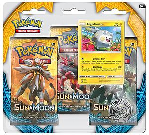Pokemon Trading Card Game: Sun & Moon 3-Pack Blisters - Togedemaru