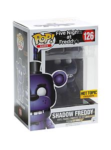 Pop! Games Five Nights at Freddy's Vinyl Figure Shadow Freddy #126 Hot Topic Exclusive