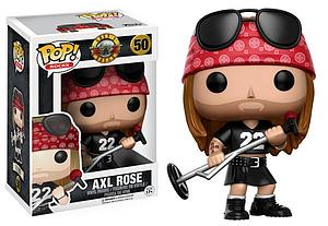 Pop! Rocks Guns N' Roses Vinyl Figure Axl Rose #50