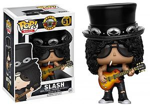 Pop! Rocks Guns N' Roses Vinyl Figure Slash #51
