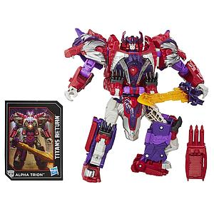 Transformers Generations Titans Return Voyager Class: Autobot Sovereign & Alpha Trion