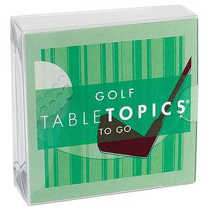 TableTopics to Go: Golf