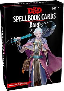 Dungeons & Dragons Spellbook Cards: Bard